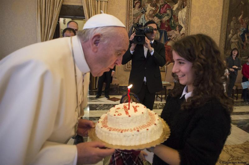 ¿Quieres felicitar al Papa Francisco por su 80 cumpleaños?