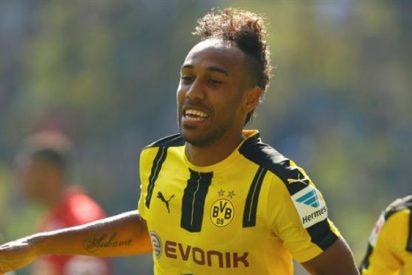 Florentino Pérez ataca el fichaje de Aubameyang en la visita del Dortmund