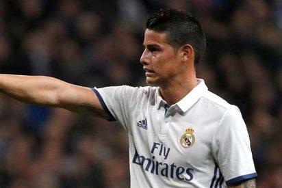 Florentino Pérez decide al sustituto de James Rodríguez en el Real Madrid