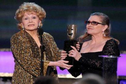 Muere Debbie Reynolds, madre de Carrie Fisher y protagonista de 'Cantando bajo la lluvia'