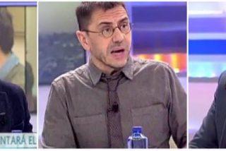 Monedero aprovecha la ausencia de Ana Rosa para chulearse y echar la bronca a los periodistas por hablar de las peleas podemitas