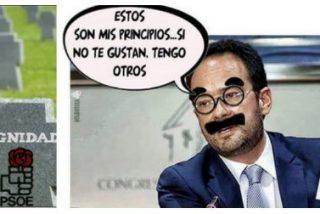 """La desgarradora sinceridad de Antonio Hernando: """"Si sigo con Pedro, ¿cómo voy a pagar la hipoteca?"""""""
