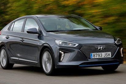 5 estrellas EuroNCAP para el Ioniq, el híbrido de Hyundai