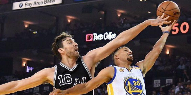 Pau Gasol (17+13+6+2) brilla; los Spurs, 2º equipo con 20 triunfos
