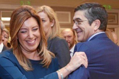 Pedro Sánchez intenta salvar el culo y se ofrece a ir de segundo de Patxi López