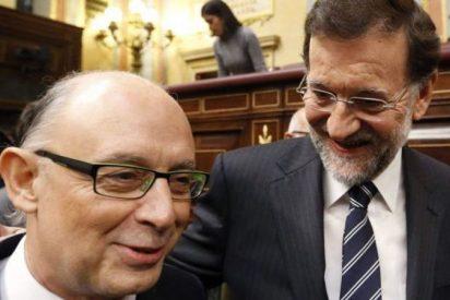 """Rajoy a Montoro: """"Cristóbal, ten cuidado con el vino"""""""