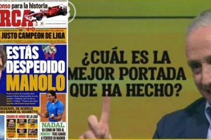 Eduardo Inda admite que su portada más polémica en Marca la copió...¿pero de quién?