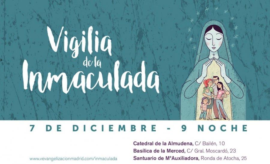 La Vigilia de la Inmaculada, centrada en 'la alegría del amor en la familia'