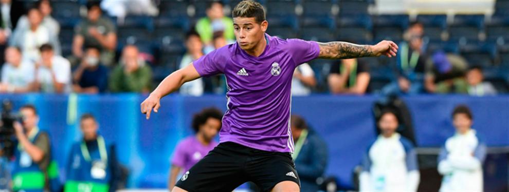 James saca los trapos sucios de Zidane (y Florentino Pérez) en el Real Madrid