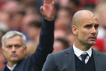 José Mourinho provoca las críticas a Pep Guardiola en Manchester