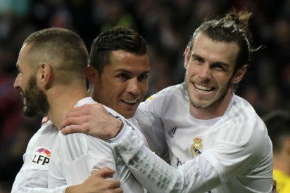 El Real Madrid sólo ha jugado una vez sin la BBC en Liga... y perdió