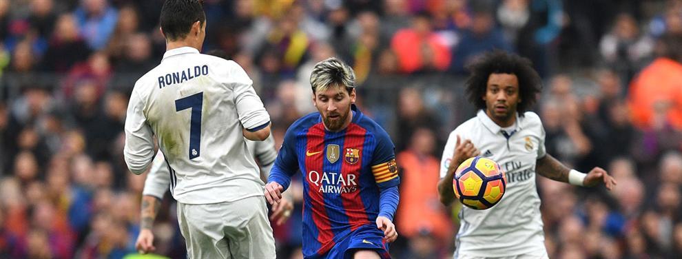 La charla entre Messi y James después del Clásico