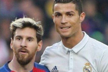 La charla que mantuvieron Messi y Cristiano Ronaldo en el clásico