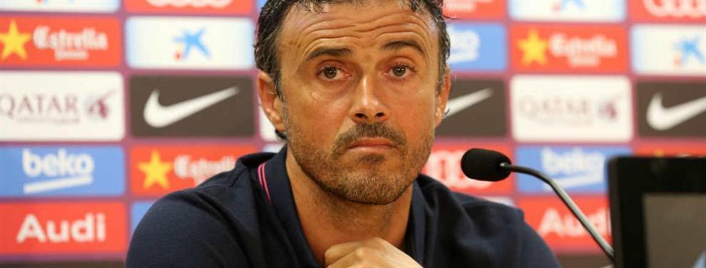 La condición que ha puesto el Barça a Luis Enrique para el lateral derecho