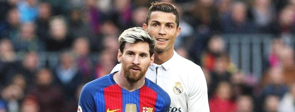 La fea vacilada de Cristiano Ronaldo a Leo Messi