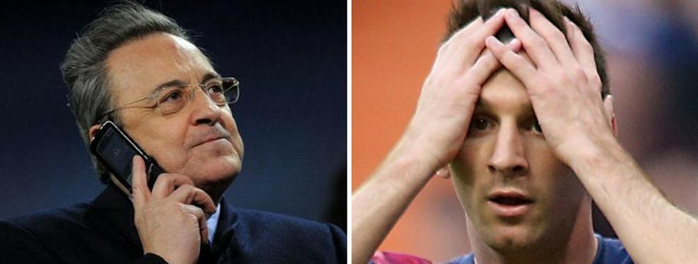 La negociación de Florentino Pérez que pone en alerta a Leo Messi