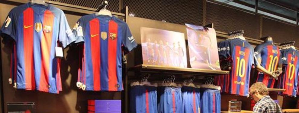 La primera foto de la camiseta de Barcelona para la temporada 2017-2018
