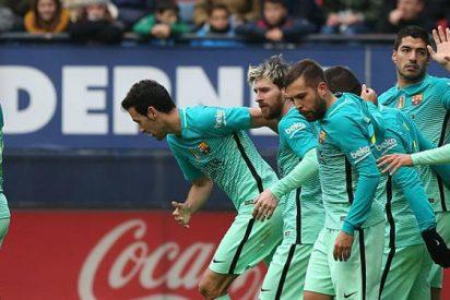 Las cinco claves de la victoria del Barça ante Osasuna en El Sadar