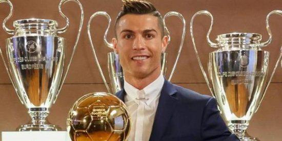 Cristiano Ronaldo consigue su cuarto Balón de Oro y se coloca a uno de Messi
