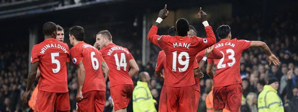 Liverpool se quedó con el clásico frente a Everton y se ubica segundo