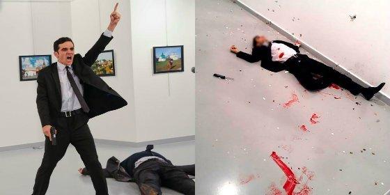 """Quién era el policía que asesinó al embajador ruso: """"¡Allahu Akbar!"""""""