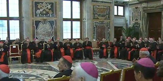 El Papa no teme a los cardenales resistentes