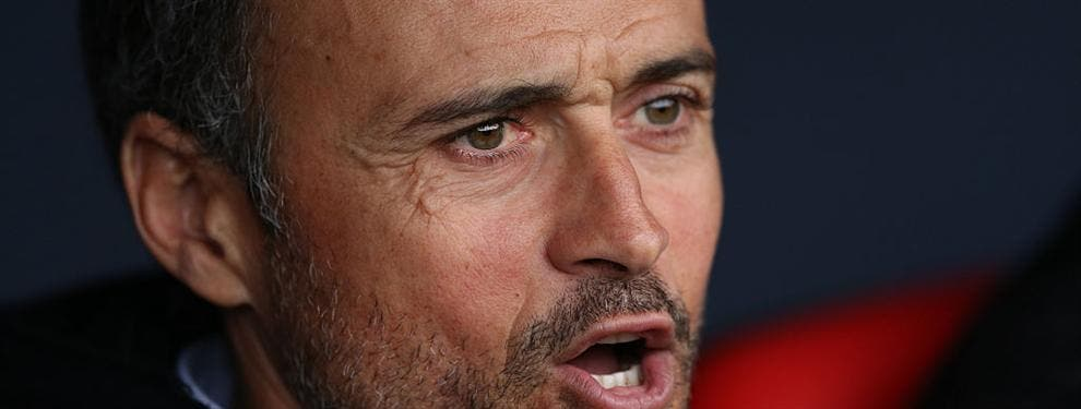 Luis Enrique empuja a la puerta de salida a un crack del Barça