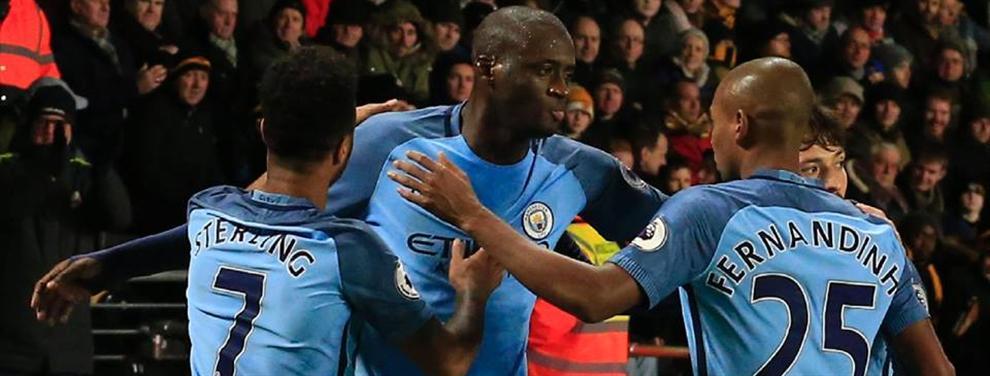 Manchester City suma tres puntos importantes en su lucha por el liderato