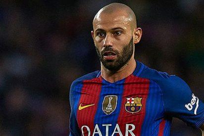 Mascherano encuentra un resquicio para poner al Barça contra las cuerdas