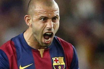 Mascherano no ocultó toda la bronca contra un compañero del Barça