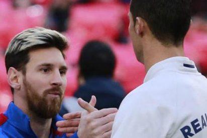 Messi felicitó a Cristiano Ronaldo por ganar su cuarto Balón de Oro
