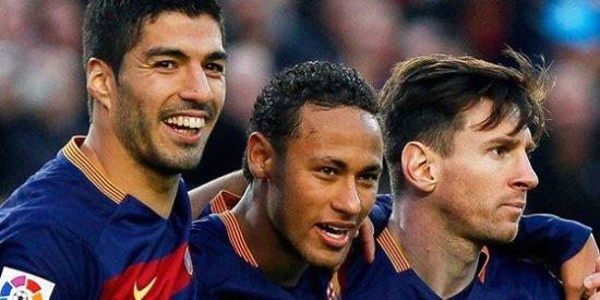 Leo Messi y Luis Suárez comparten el Pichichi con 12 goles