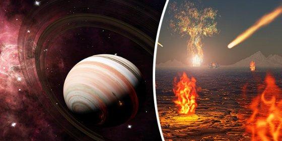 Descubren un extraño planeta gigante donde llueven rubíes y zafiros