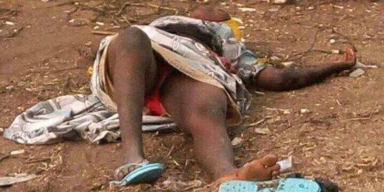 El linchamiento de la suicida de Boko Haram a quien le falla su chaleco explosivo