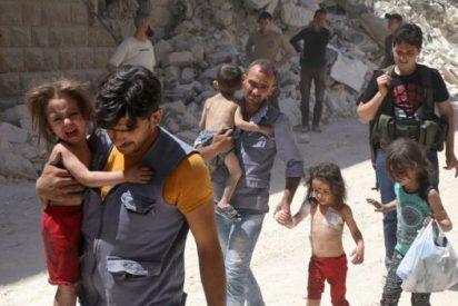 A vista de dron: lo que queda de la devastada Alepo tras los bombardeos