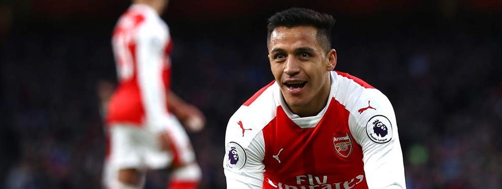 ¡Ofertón para sacar a Alexis del Arsenal y convertirle en el mejor pagado!