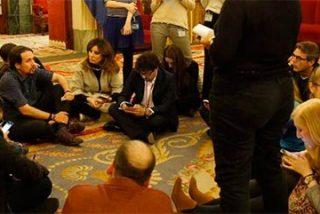 """Luis Ventoso contra la rueda de prensa quincemera de Pablo Iglesias: """"¿Que diría Podemos si Montoro sienta a la prensa en el puto suelo?"""""""