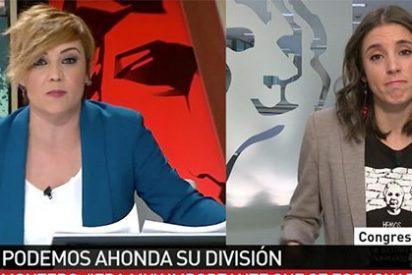 El tremendo cacharrazo que coloca Cristina Pardo tras percartarse que Irene Montero miente más que habla