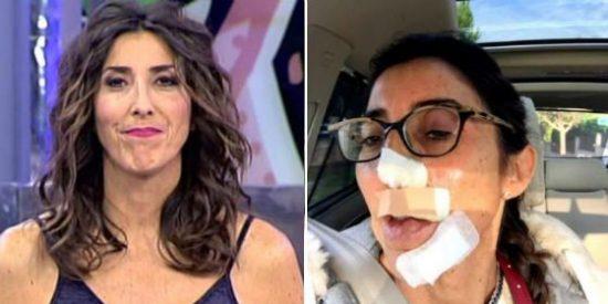 Paz Padilla monta un escándalo con una broma de muy mal gusto
