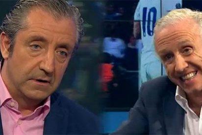 Josep Pedrerol le reprocha a Eduardo Inda sus ataques sin fundamento a James Rodríguez