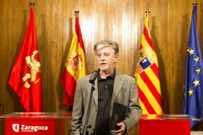 Sebastián Contin, concejal del PP, pone contra las cuerdas a Pedro Santisteve, el alcalde podemita de Zaragoza