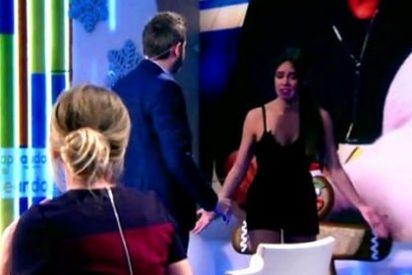 """Cabreo sin precedentes de Cristina Pedroche en directo: """"¡Joder! ¡Iros a la mierda!"""""""