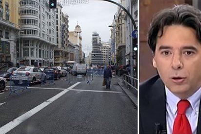 Caos navideño en el centro de Madrid: el PP bufa por los datos que se inventan los podemitas
