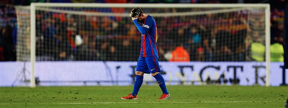 ¡Pesadilla! Messi soñó con Zidane luego de su noche más oscura en el Barça