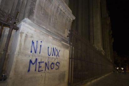 Aumentan las pintadas contra edificios de la Iglesia en Granada