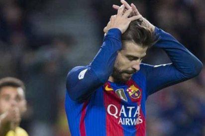 Piqué provoca un lío (y gordo) en el vestuario del Barça