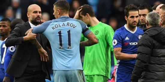 ¿Por qué Pep Guardiola no saludó a Cesc Fàbregas?