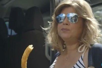 Terelu se pone hecha una furia cuando Telecinco se ríe de sus ansias de comer