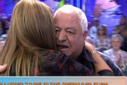 """Un señor del público interrumpe a gritos en 'Sálvame': """"¡Le corto los huevos a Lecquio!"""""""