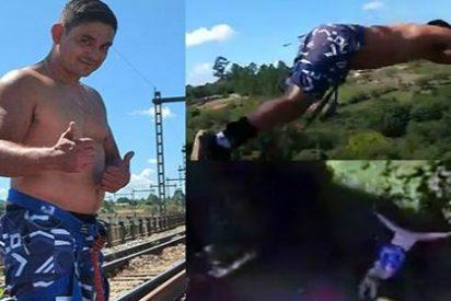 El animoso padre que muere ante su familia practicando 'Bungee jumping'